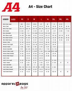 A4 - Size Chart