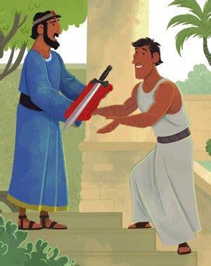 david  jonathan childrens bible activities sunday