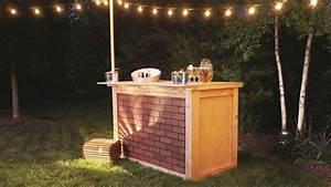 Bar Exterieur De Jardin : construisez vous m me un bar d ext rieur dans votre jardin ~ Teatrodelosmanantiales.com Idées de Décoration