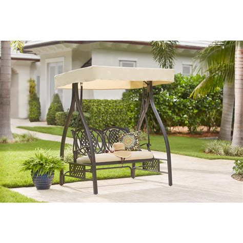 hampton bay spring haven brown  person wicker outdoor