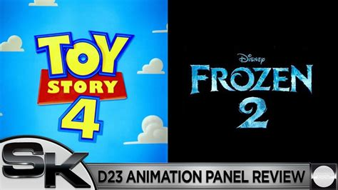 animation panel review toy story  frozen