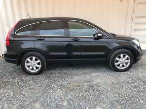 automatic  suv honda cr   black  vehicle sales