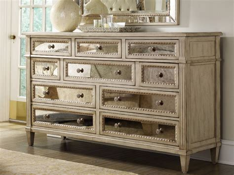 Hooker Furniture Sanctuary Pearl Essence Triple Dresser & Mirror Set Spell Drawer Dresser Math Circle Stacking Drawers Target Handmade Wooden Chest Of Objective C Menu Slides Pure Css Three White Nightstand