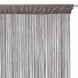 Fil Tringle Rideau : rideau et voilage rideaux rideaux occultant voilage ~ Premium-room.com Idées de Décoration