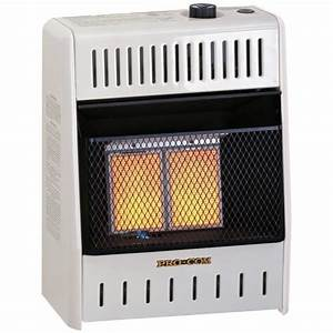 Ventless Infrared Natural Gas Wall Heater