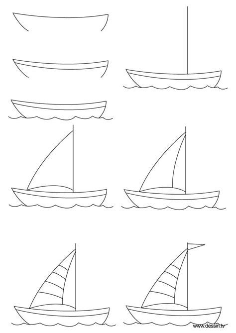 How To Draw A Boat Using Figure 8 by 27 Best Boats Images On Boats