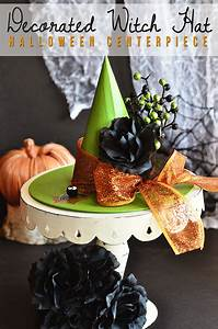 Easy Halloween Craft Pumpkin Witch Hat