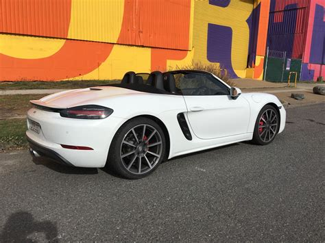 Review Porsche 718 by 2017 Porsche 718 Boxster S Review Photos Caradvice