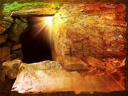 He Easter Risen Sunday Tomb Jesus Empty