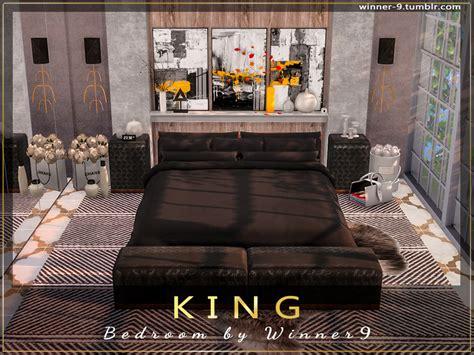 winners king bedroom