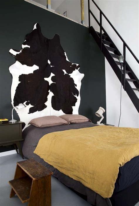 décoration chambre vache