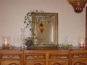 Buffet Avec Miroir : impressionnant deco salon salle a manger 5 salle a manger grand miroir pos233 sur mon buffet ~ Teatrodelosmanantiales.com Idées de Décoration