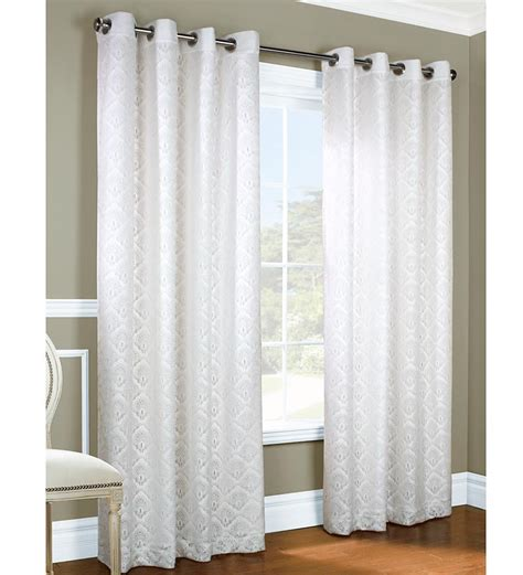 insulated lined grommet top curtain thermalace pair