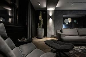 Dark, Interior, Design, By, Yodezeen