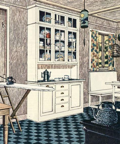 1920s kitchen design 1920s kitchen gallery kitchen flooring cabinetry nooks 1019
