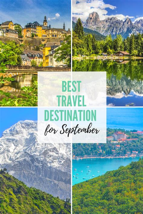Best Destinations To Travel In September My Travel