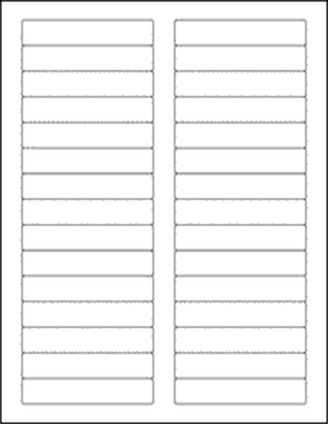 Avery Template 5366 For Word by File Folder Labels 1000 Sheets White Matte Blank Laser