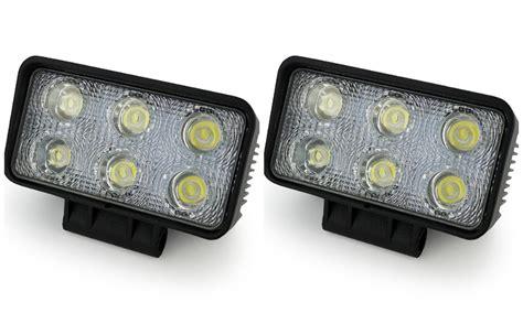 assem 18w led spot work 2pcs white 12 volt 18w led working light bulbs worklight