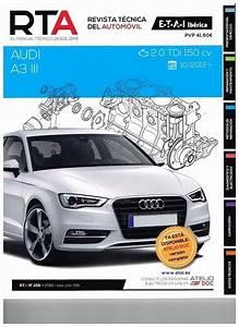 Manual De Taller Y Mecanica Audi A3 Iii 2 0 Tdi 150 Cv