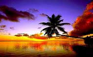 Free Tropical Beach Sunset Desktop Backgro…
