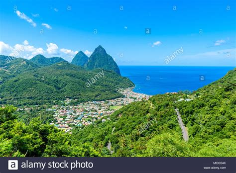 St Lucia Pitons Stock Photos And St Lucia Pitons Stock