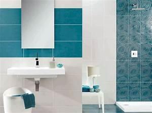 salle de bain carrelage bleu tinapafreezonecom With conseil carrelage salle de bain