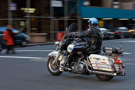 dateipolice motorcycle motion blur  manhattan nycjpg