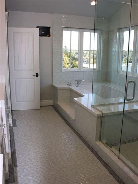step  roman tub shower combination design pictures