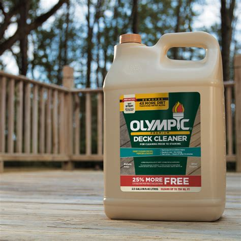 Olympic Premium Deck Cleaner 2.5 Gal