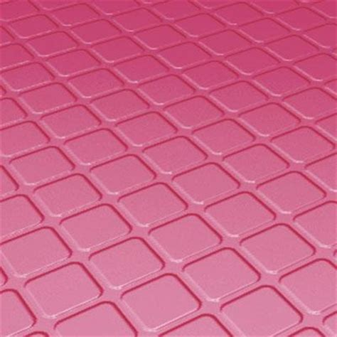 Roppe Rubber Tile 994 metal border metal mosaic 5 x 5 scacchi nero tile