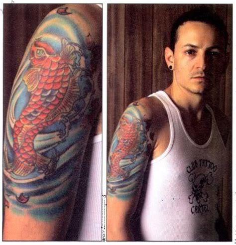 Chester Bennington Tattoos Info