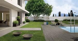 terrasse exterieur bois terrasse en bois composite With exceptional maison bois sur plots 13 dalle terrasse composite 50