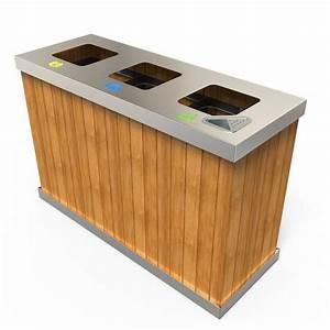 Poubelle De Tri Selectif : int r t de la poubelle de tri s lectif 3 bacs label ~ Farleysfitness.com Idées de Décoration