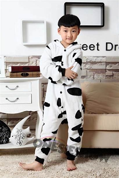 Cow Pajamas Onesie Animal Teens Costumes Kigurumi