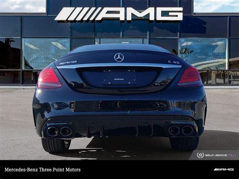 It has three body styles: New 2020 Mercedes-Benz C43 AMG 4MATIC Sedan 4-Door Sedan in Victoria #414260 | Three Point Motors