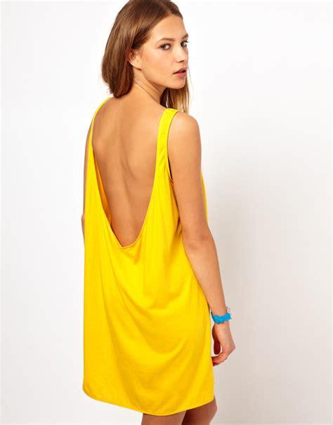 Buy Sofas Uk by American Apparel American Apparel Low Back Tank Dress At