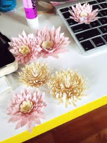 Lily Paper Flower Template