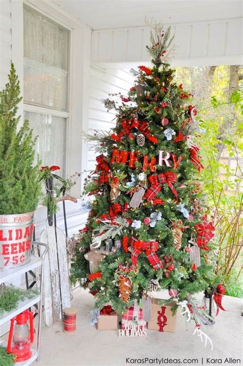 top christmas tree outside decoration 22 best outdoor tree decorations and designs for 2019