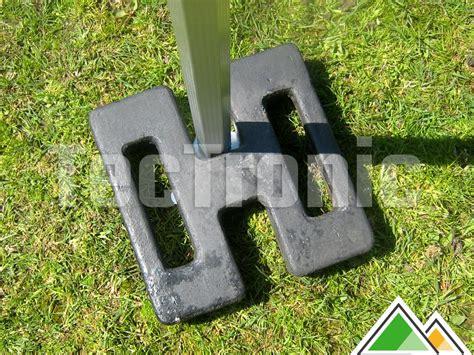 lestage ou poids de pied de 15 kg pour vos tentes pliantes