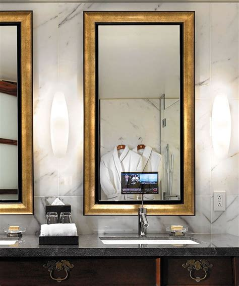 Mirror Tv Bathroom by 25 Best Ideas About Mirror Tv On Lighted