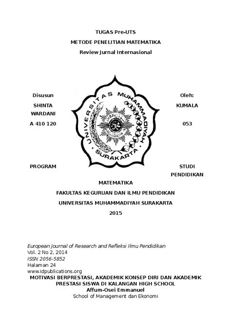 (DOC) REVIEW JURNAL INTERNASIONAL | Shinta Kumal