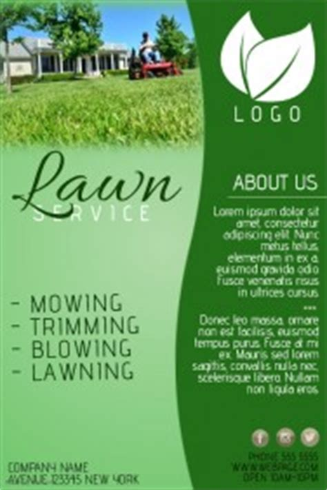 landscaping flyer templates customizable design templates for lawn service template postermywall