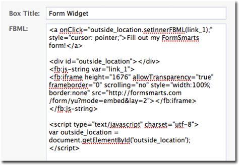 add  form  facebook    form builder