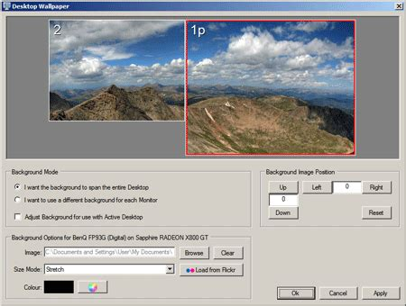 Displayfusion Animated Wallpaper - displayfusion manage monitors together