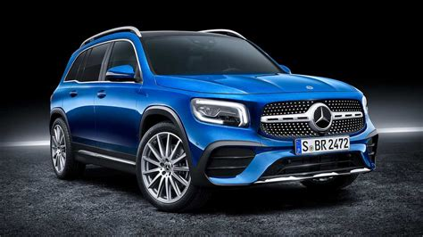 The mercedes glb looks great, has a big boot and is available with seven seats, making it desirable and practical. 2020 Mercedes-Benz GLB-Class revealed as compact seven-seat SUV