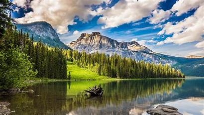 Nature Banff National Lake Park 4k Emerald