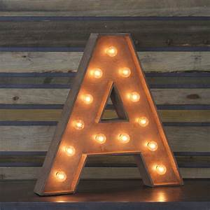 """Edison Marquee Letter - """"A"""" Town & Country Event Rentals"""