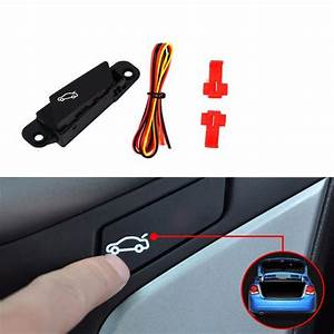 Angelguoguo Car Trunk Switch Button Assembly For 2009 2014