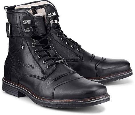 bugatti denim schnuer boots  schwarz kaufen goertz
