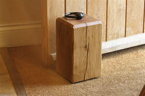 the door stop personalised oak doorstops makemesomethingspecial